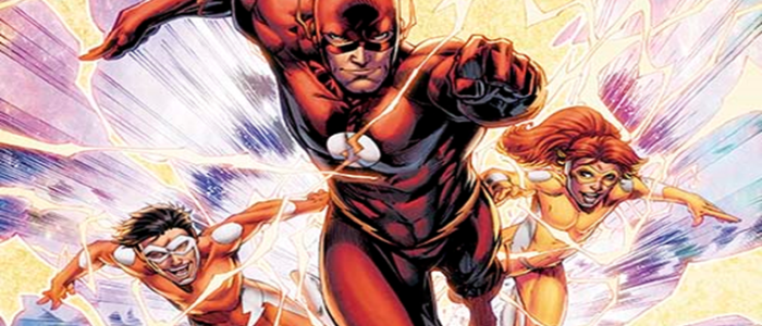 The Flash Podcast EXCLUSIVE: Character Pages For CONVERGENCE: SPEED FORCE