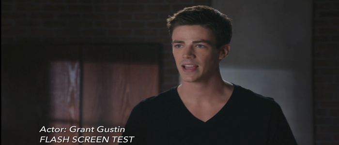 The Flash's Grant Gustin's Screen Test Released