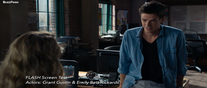 The Flash's Grant Gustin and Emily Bett Rickard's Screen Test Released