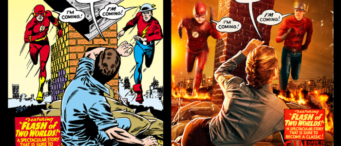 The Flash Reveals First Look at Jay Garrick in Homage Photo