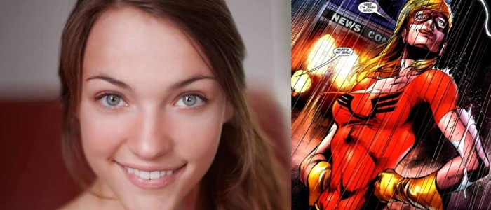 Violett Beane Cast as DC Comics' Jesse Quick on The Flash