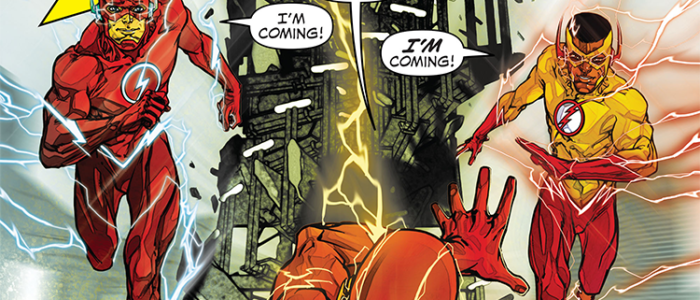 "REVIEW: The Flash #9 – ""Kid Flash of Two Worlds"""