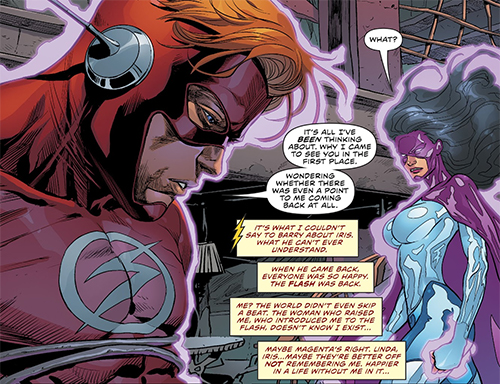 dde7afcc772 Whatever happens, the Flash War prelude proves that Williamson understands  the importance of the Flash family and knows how to write Wally West, ...