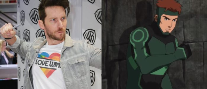 Young Justice SDCC '18 Interview: Troy Baker