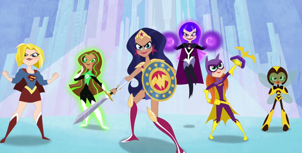 DC Superhero Girls Take The Stage at WonderCon