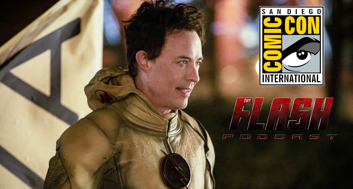 SDCC 2019 - The Flash Interview: Tom Cavanagh On New Harrison Wells