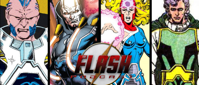 The Flash Podcast Season 5.5 – Episode 10: Crisis on Infinite Earths Character Spotlights